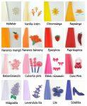 Quilling színes papír csíkok 100db 5mm