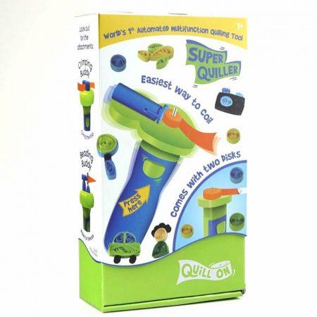 Super Quiller Könnyített papírtekercselő gép - Kék