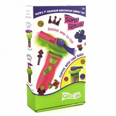 Super Quiller Könnyített papírtekercselő gép - Pink