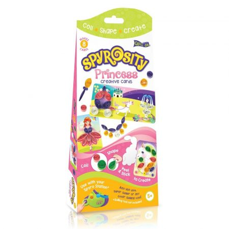 Hercegnős kreatív Quilling szett gyerekeknek - Spyrosity kiegészítőcsomag