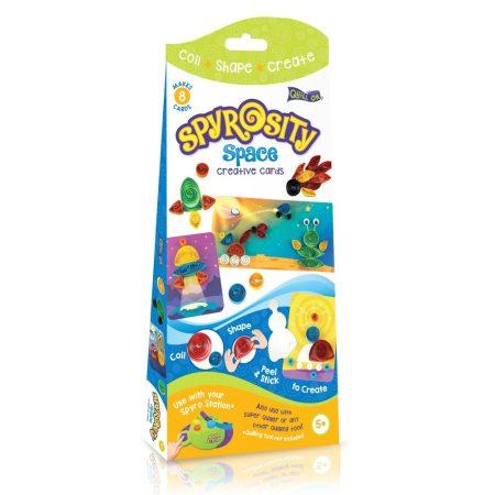 Ûrutazás kreatív Quilling szett gyerekeknek - Spyrosity kiegészítõcsomag