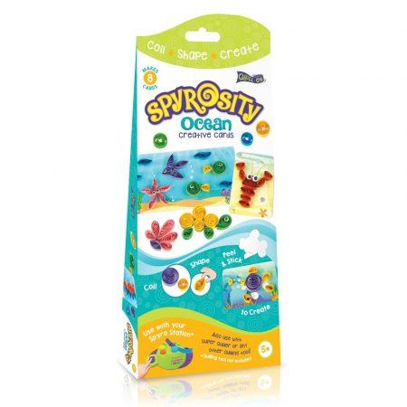 Tengeri Világ kreatív Quilling szett gyerekeknek - Spyrosity kiegészítõcsomag