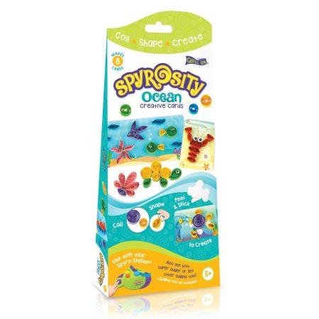 Tengeri Világ kreatív Quilling szett gyerekeknek - Spyrosity kiegészítőcsomag