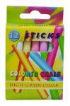 Táblakréta színes 12 db