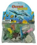 Játék tengeri állatok mini