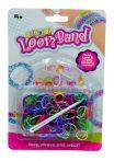 Loom Band gumis karkötő készítő szett 150 db