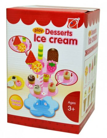 Játék fagyi készlet