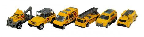 Játék sárga angyal segítségnyújtó autó többféle