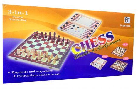 3 az 1-ben Sakk, Dáma és Backgammon fajáték