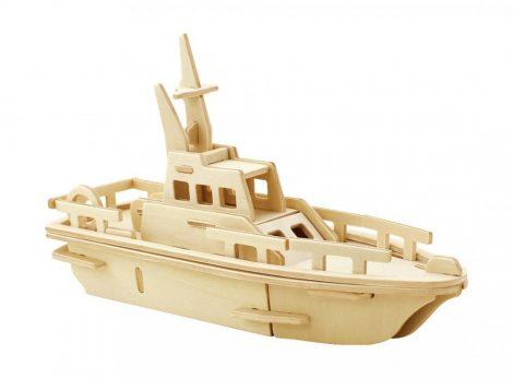 3D FA Puzzle Yacht hajó