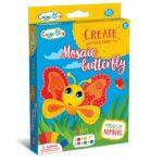 Finommotorikus készségfejlesztő mozaik játék pillangó