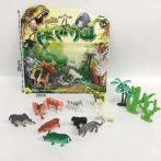 Játék mini vadállatok