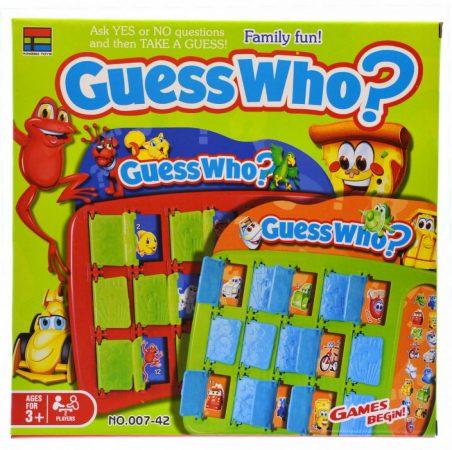 Guess who? Ki kicsoda? Társasjáték