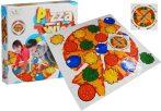 Pizza Twist ügyességi társasjáték 27x27cm dobozban