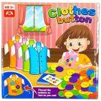 Clothes Button Gombfelvarrós társasjáték