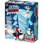 Pingvines jégtömb halmozós egyensúlyozós társasjáték
