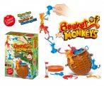 Basket of Monkeys Egyensúlyozó majmok társasjáték