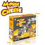 Mouse Stacks Chese Egér a sajtban társasjáték