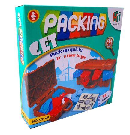 Bőröndbe csomagolós társasjáték