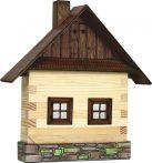 Építős játékok - Fa játék kunyhó falra