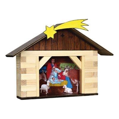 Városépítős játékok - Betlehem házban