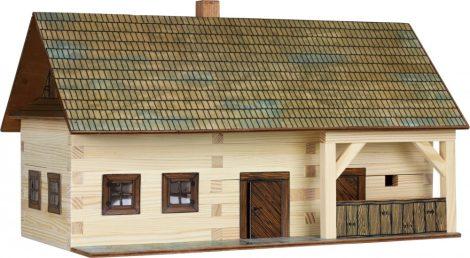 Építőjáték - Városépítős játékok tanyasi makett ház