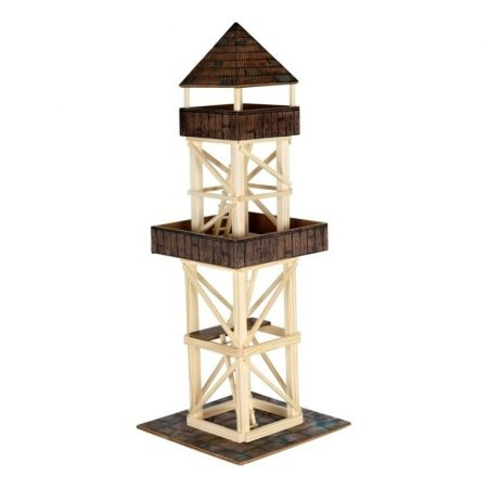 Kilátó torony összeépíthető fajáték makett Walachia