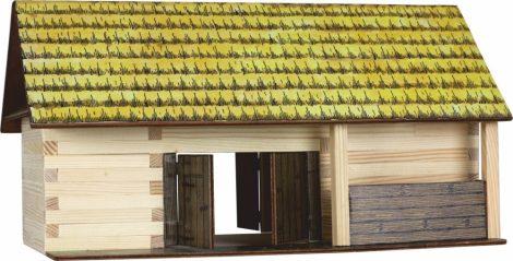 Fa kreatív készlet - Istálló építő szett