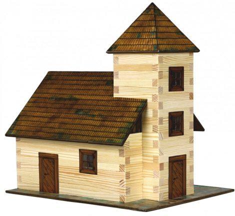 Városépítős játékok - Templom modell