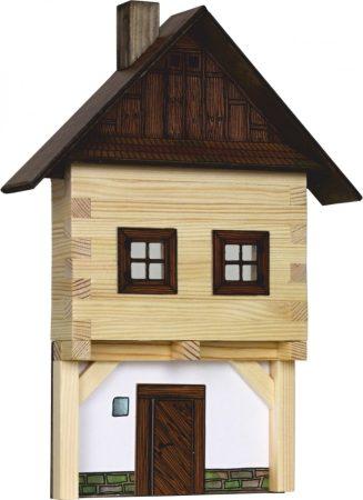 Építő játékok - Városház makett falra