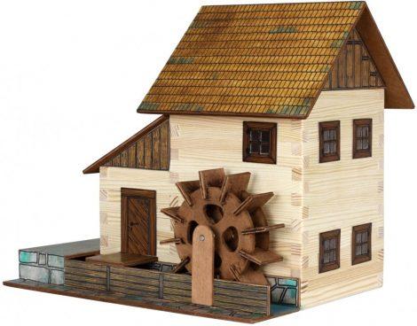 Építőjáték - Építős játékok - Vízimalom makett