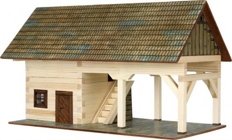 Ház építős játékok - Fészer makett
