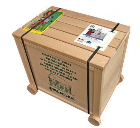 Építőjáték - Építőjáték 378 db-os doboz erőd készlet Vario