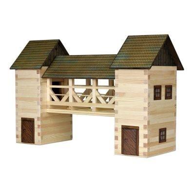 Építős játékok- Híd makett