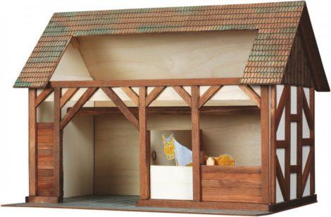 Építkezős játékok - Istálló makett