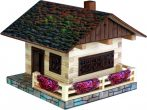 Építőjáték - Házépítő játék fából, Alpesi ház