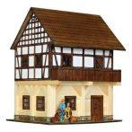 Építős játékok - Magtár faház makett