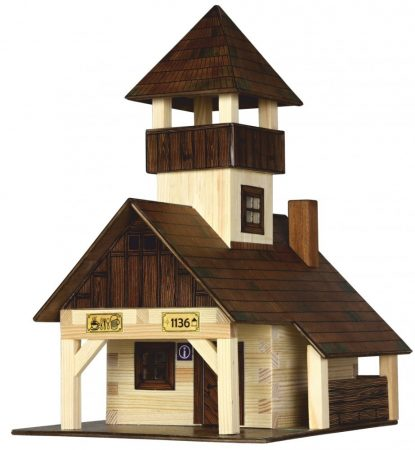 Építőjáték - Építős játékok Túra kunyhó