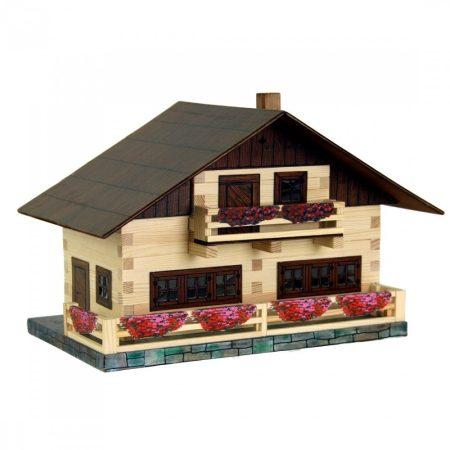 Fa építős játék Alpesi ház Walachia