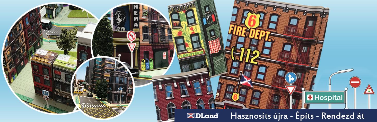 DLand Környezettudatos Városépítő játékok